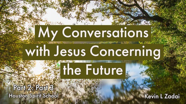 My Conversations With Jesus Concernin...