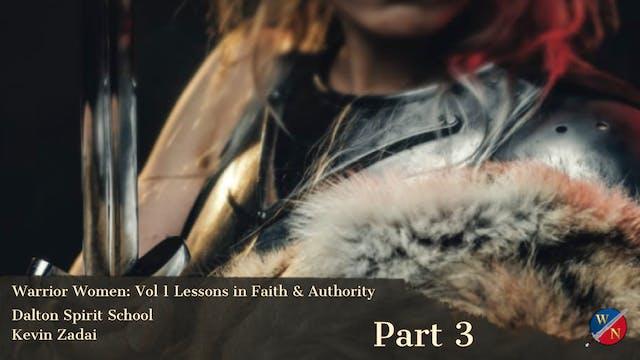 Warrior Women - Session Three- Dalton...