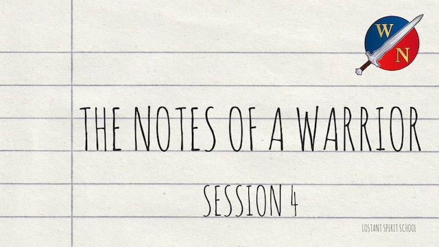 The Notes Of A Warrior Session 4 -  Lostant - Kevin Zadai