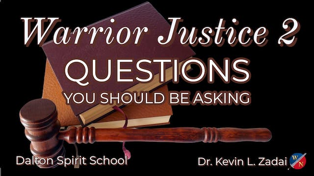 Warrior Justice 2: Questions You Shou...