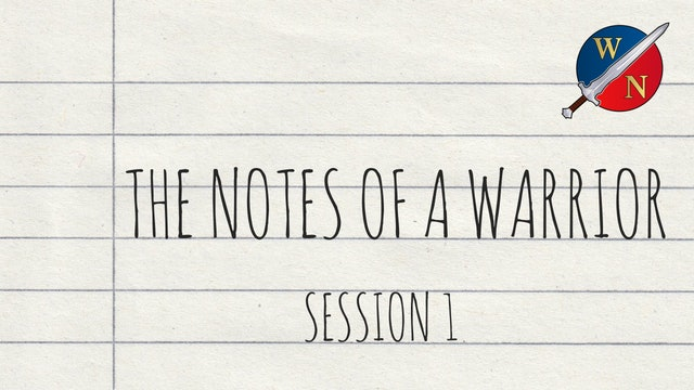 The Notes Of A Warrior Session 1 - Lostant - Kevin Zadai