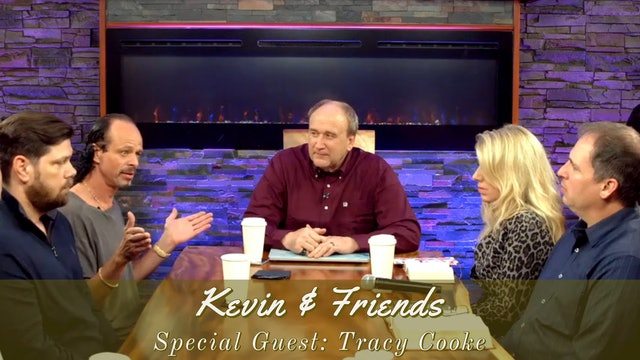 LIVE  Kevin & Friends With Special Guest Tracy Cooke