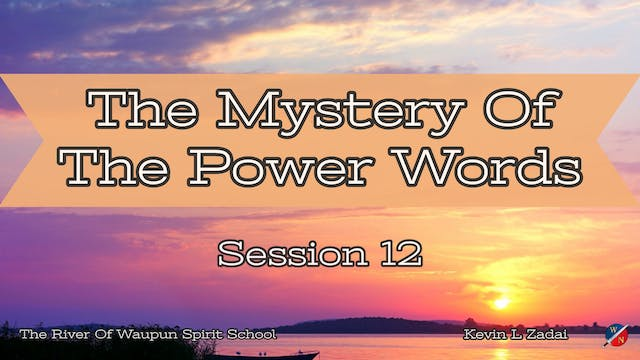 The Mystery Of The Power Words @ The ...