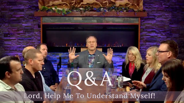 "LIVE Q&A on - ""Lord, Help Me To Under..."
