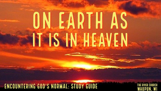 On Earth As It Is In Heaven  - Kevin ...