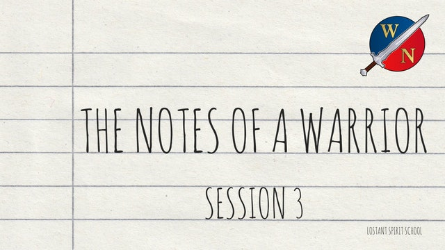 The Notes Of A Warrior Session 3 -  Lostant - Kevin Zadai