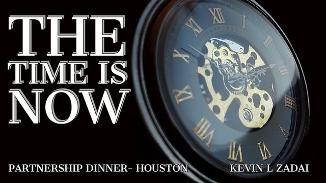 The Time Is Now - Kevin Zadai
