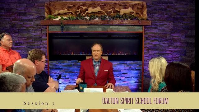Dalton Spirit School Forum LIVE Q&A SESSION 3
