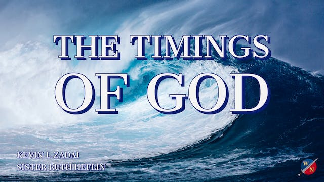 The Timings Of God - Live With Sister...