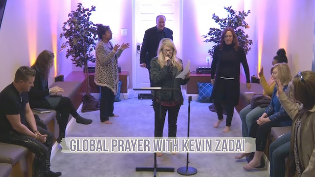 Live Global Prayer With Kevin Zadai