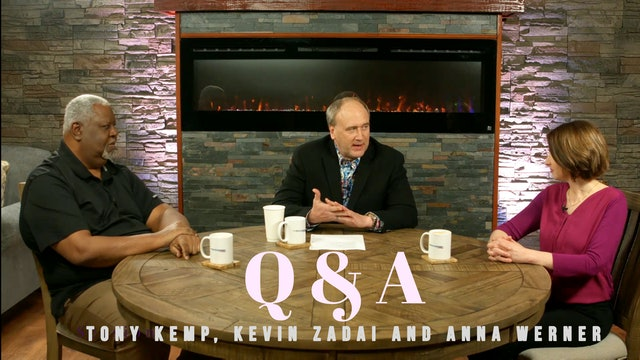 Q&A With Kevin Zadai With Ana Werner and Tony Kemp
