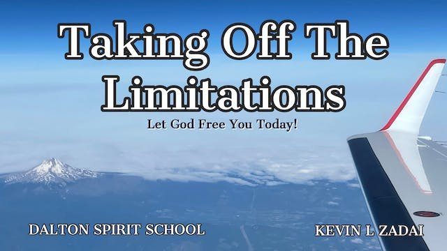 Let God Free You Today! Taking Off Th...