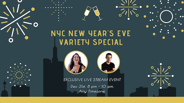 NYC NEW YEAR'S EVE VARIETY SPECIAL