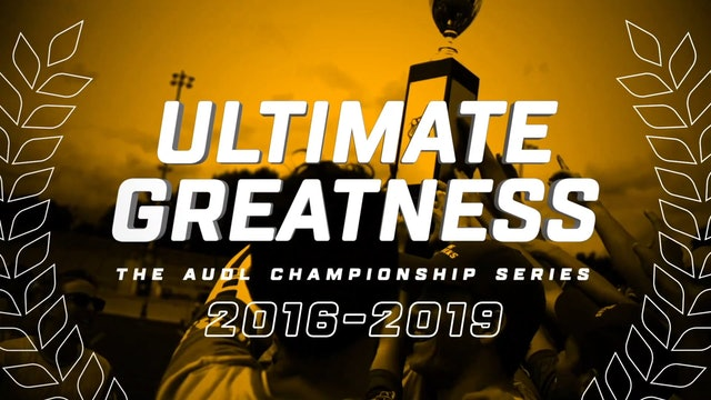 Ultimate Greatness _ Episode08 _ 2018 Champ Final _ DAL@MAD [Spanish]
