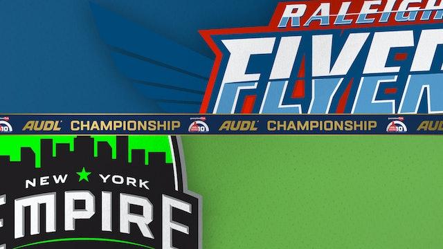 Raleigh Flyers vs. New York Empire 09/11/21