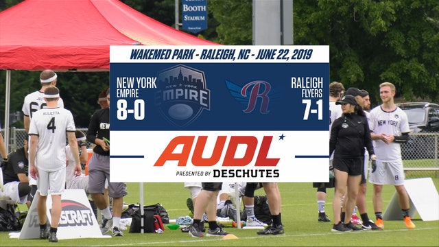 Greatest Matches 2019 Regular Season   NY@RAL