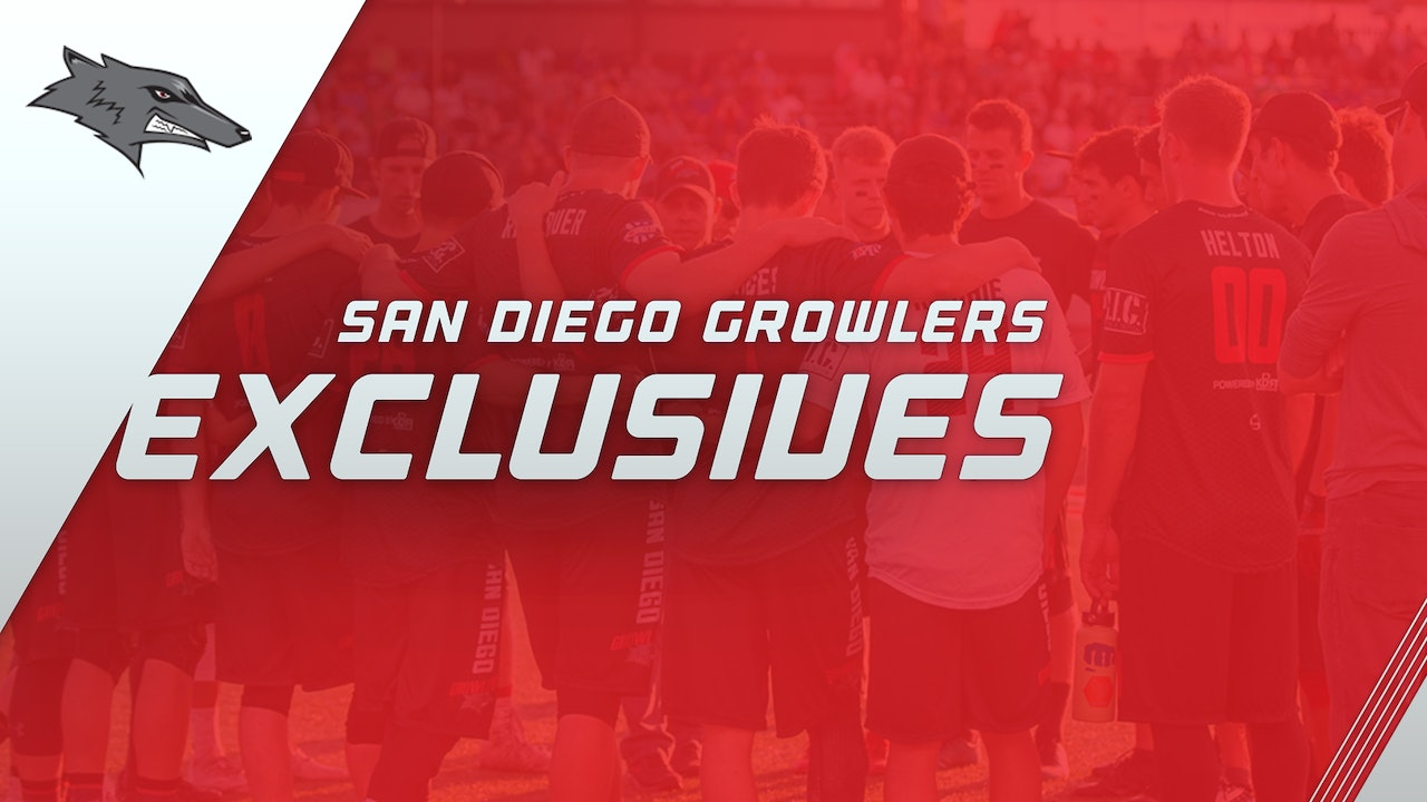 San Diego Growlers Exclusives
