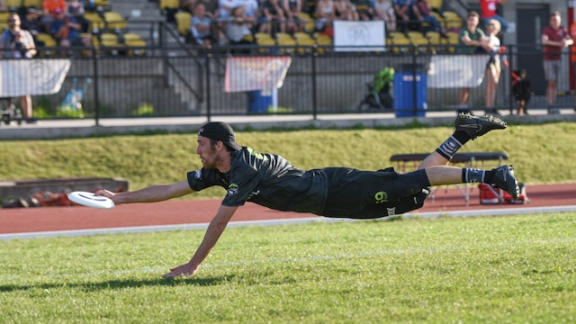 2018 AUDL: New York Empire at Montreal Royal — Week12