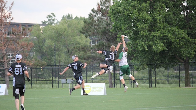 2018 AUDL: Indianapolis AlleyCats at Minnesota Wind Chill — Week 10