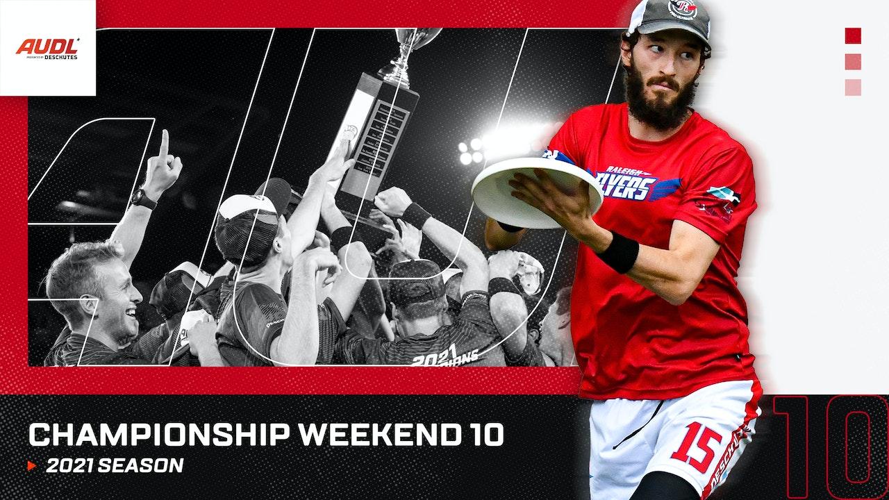 2021 AUDL Championship Weekend 10