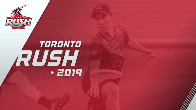 Toronto Rush 2019