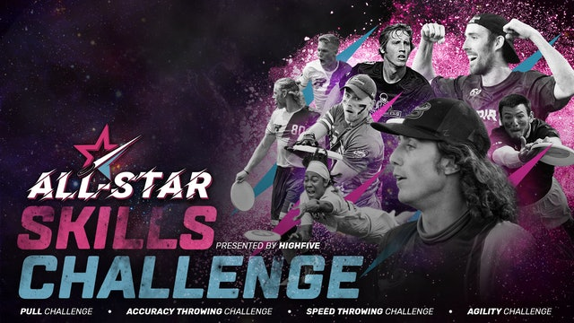 AUDL All-Star Skills Challenge