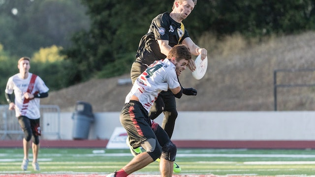 2018 AUDL: Los Angeles Aviators at San Jose Spiders — Week 13