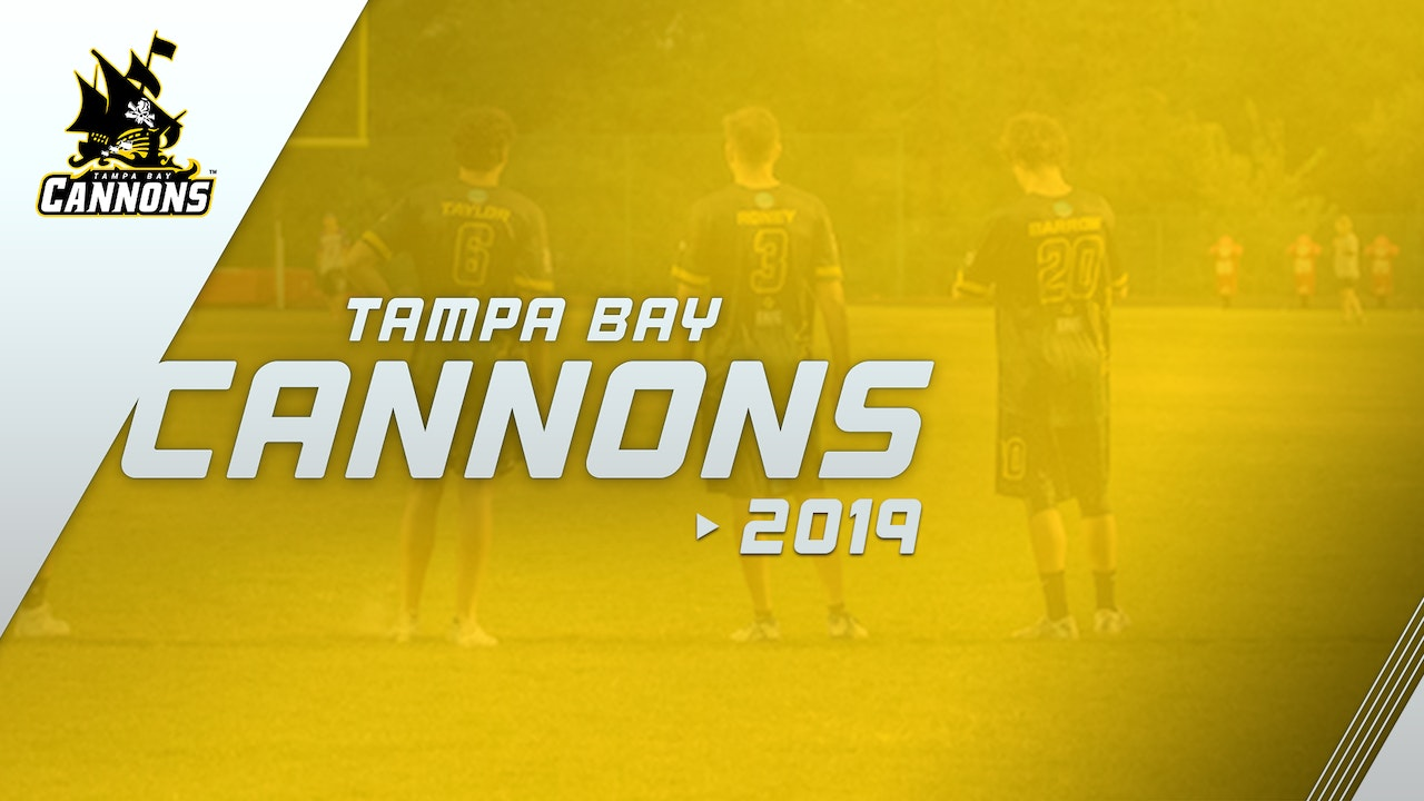 Tampa Bay Cannons 2019