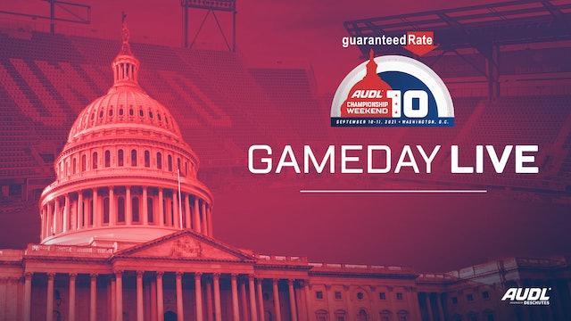Game Day Live   Thursday, September 9th 6:30pm