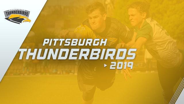 Pittsburgh Thunderbirds 2019