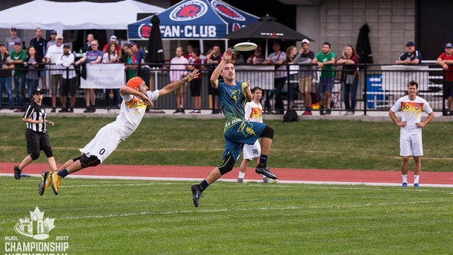 2017 AUDL Semifinals: San Francisco FlameThrowers vs Madison Radicals