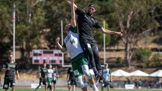 2019 AUDL Semifinals: Indianapolis AlleyCats vs New York Empire