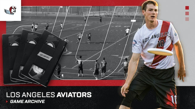 Los Angeles Aviators Game Archive