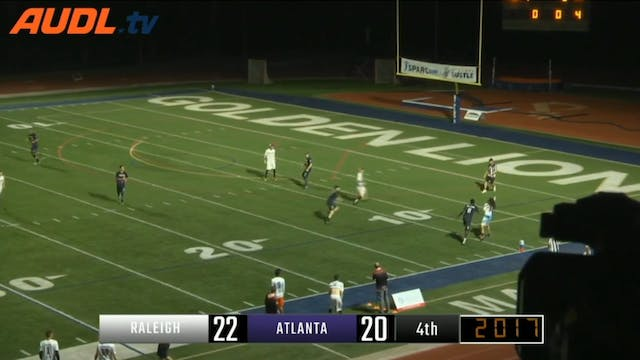 Atlanta vs Raleigh Highlights