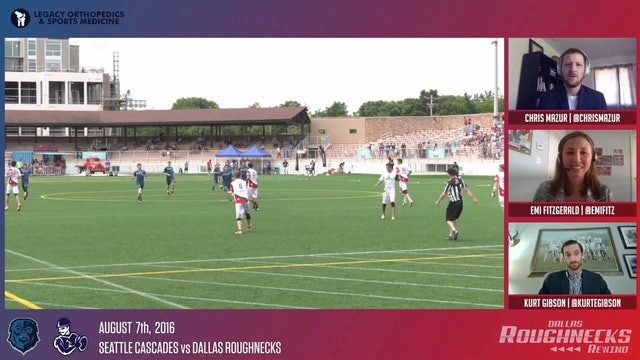 Roughneck Rewind 03: 2016 AUDL Championship Final vs Seattle Cascades