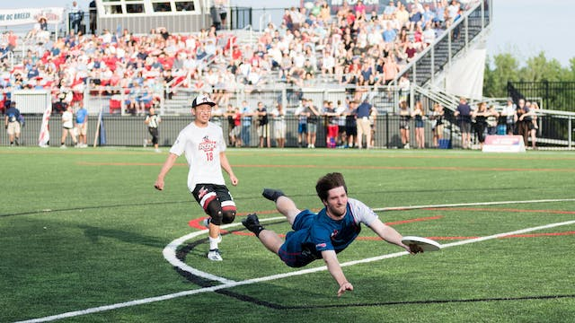 2018 AUDL: Toronto Rush at DC Breeze ...