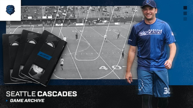 Seattle Cascades Game Archive