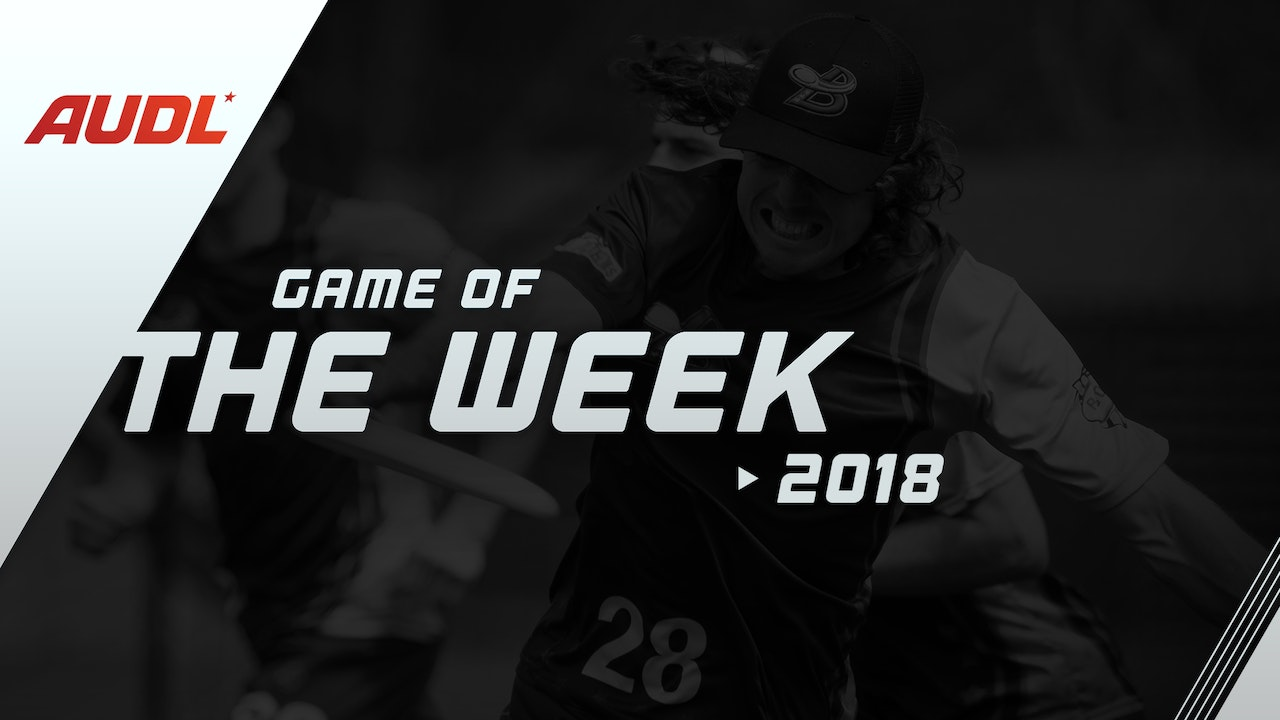 2018 Game of the Week