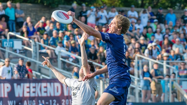 2018 AUDL Semifinals: New York Empire vs Dallas Roughnecks