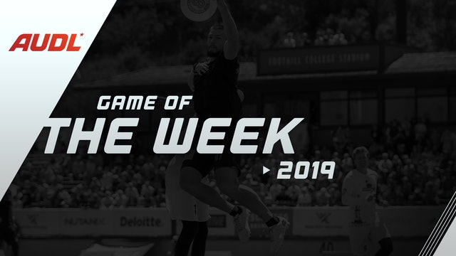 2019 Game of the Week