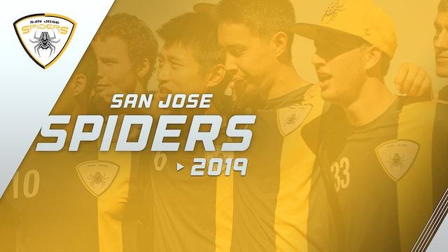 San Jose Spiders 2019