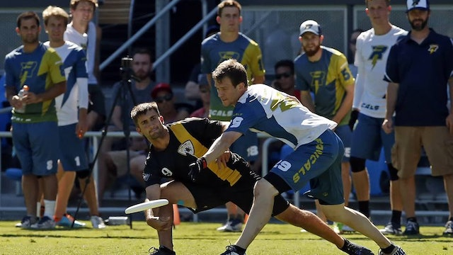 2015 AUDL Championship Game: San Jose Spiders vs Madison Radicals
