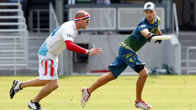 2015 AUDL Semifinals: Raleigh Flyers vs Madison Radicals