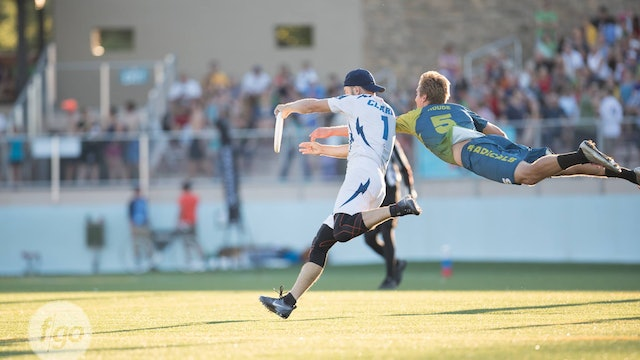 2016 AUDL Semifinals: Seattle Cascades vs Madison Radicals