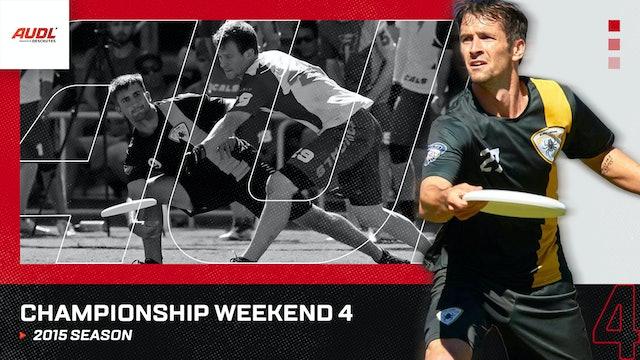 2015 Championship Weekend
