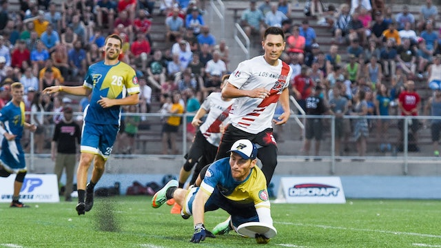 2018 AUDL Semifinals: Los Angeles Aviators vs Madison Radicals