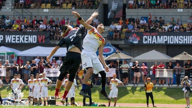 2017 AUDL Championship Game: San Francisco FlameThrowers vs Toronto Rush