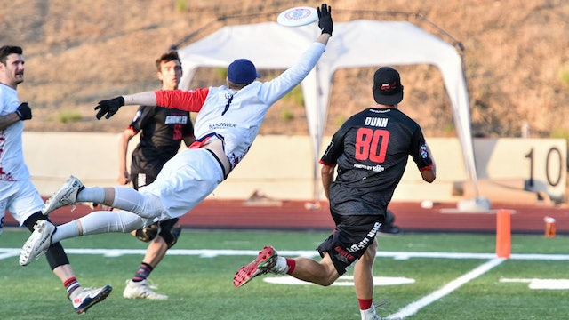 2019 AUDL Semifinals: Dallas Roughnecks vs San Diego Growlers