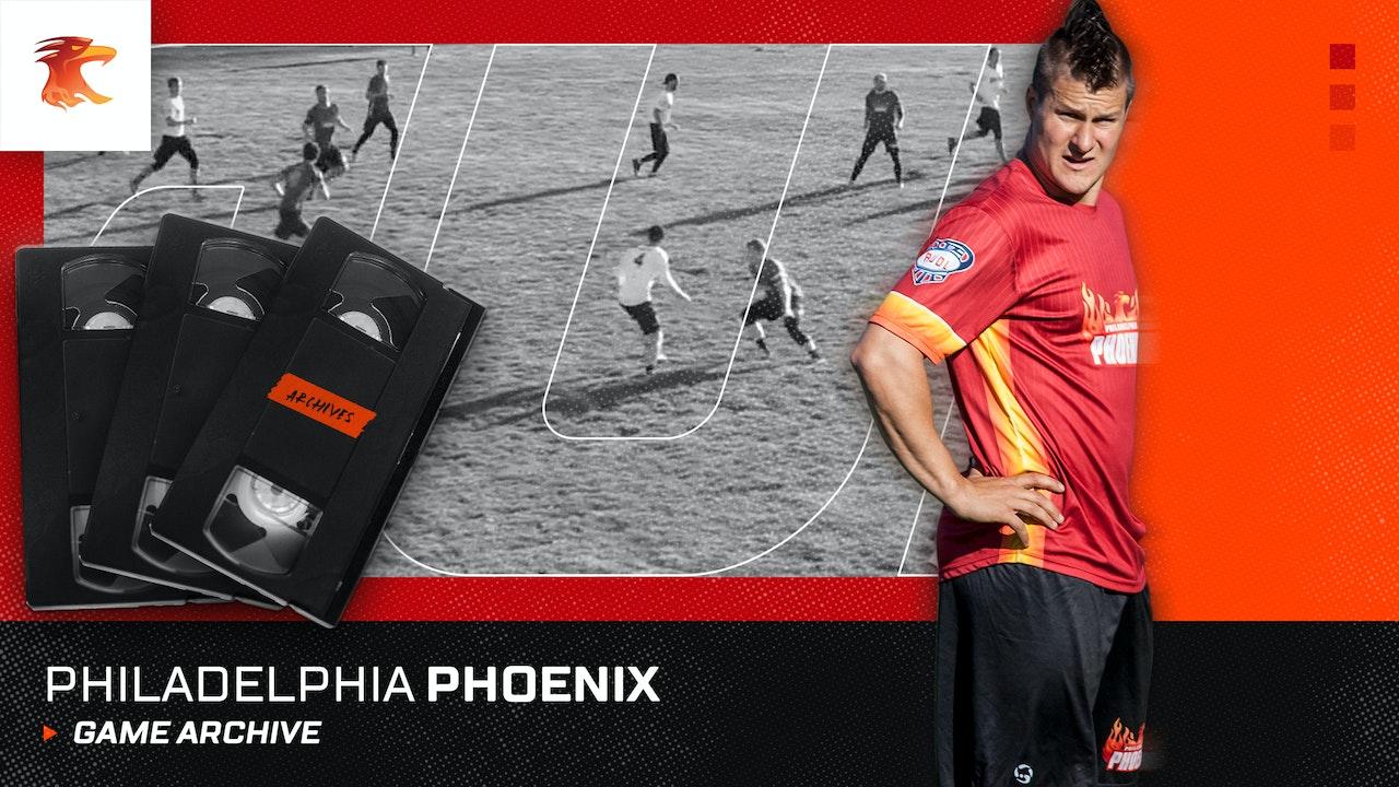Philadelphia Phoenix Game Archive