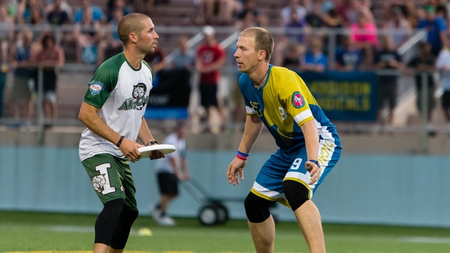 2018 AUDL: Indianapolis AlleyCats at Madison Radicals — Week 14